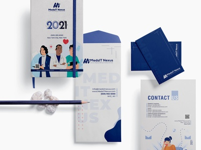 Brand Identity Design- MedsIT Nexus website animation flat minimal web app icon typography ux vector branding ui logo illustration design