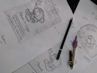 Sketches innovation clean idea creative design art poster pensil sketch