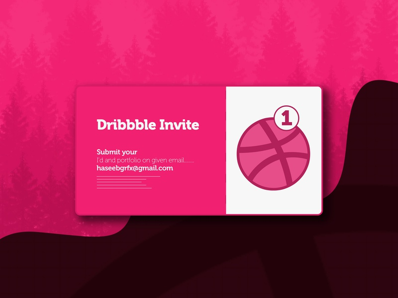 1 Dribbble invite dribbble invitation dribbble invite dribbble best shot dribbble ball dribbble clean innovation idea creative design