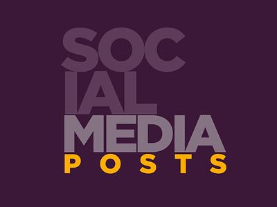 Social media Posts vector ui twitter socialmedia social linkedin layout instagram post instagram innovation illustration graphic facebook elegant design creative clean business branding art direction