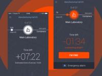 Security tracing app alert