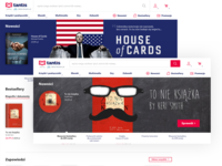 Tantis homepage