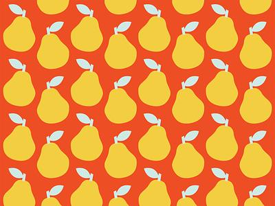 Pear Pattern colorful branding design vector illustration pear fruits pattern illustration
