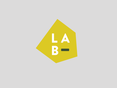 LAB logo branding design