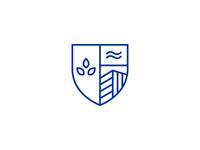 Real estate shield logotype