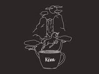 Kivu - Coffee Illustration