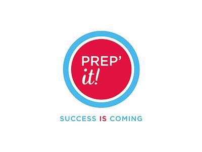 Prep'it! training centre english london england underground branding visual identity brand identity brand logotype logo graphic design