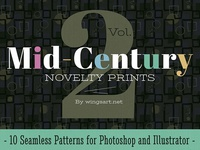 Mid-Century Prints and Patterns Vol 2