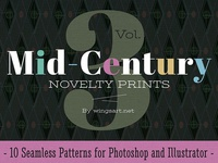 Mid-Century Prints and Patterns Vol 3