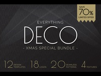 Everything Deco Xmas Design Bundle 70% Off!