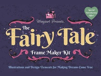 The Fairy Tale Frame Maker Kit by Wingsart