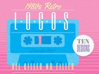 1980s Retro Logos by Wingsart