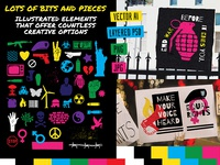 Peace And Protest: Graphics of Hope and Political Expression