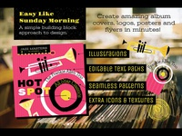 Musical Graphics and Design Elements by Wingsart