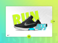 DailyUI challenge #008 — Single Product — NIKE