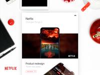 Netflix Mobile Redesign