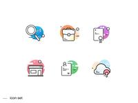 🌈 Gradient icons 🌈