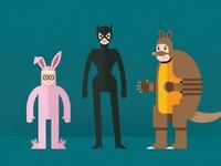 Merry Quizmas—Animal Costumes