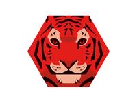Hexagon Tiger