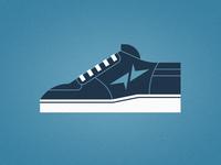 Blue Shoe 1