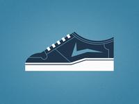 Blue Shoe 2