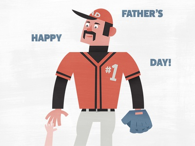 Father's Day—Baseball Player