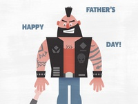 Father's Day—Biker