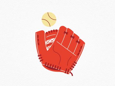 Vintage Toys—Baseball Mitt