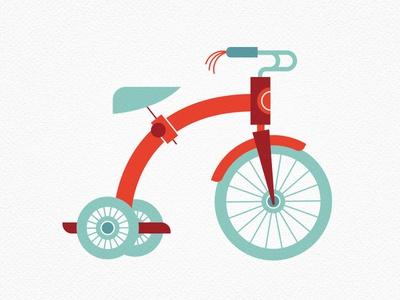 Vintage Toys—Tricycle
