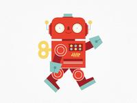 Vintage Toys—Robot