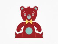Vintage Toys—Teddy Bear
