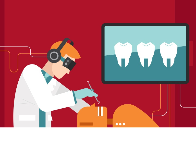 Virtual Dentistry medicine virtual reality vr technology teeth
