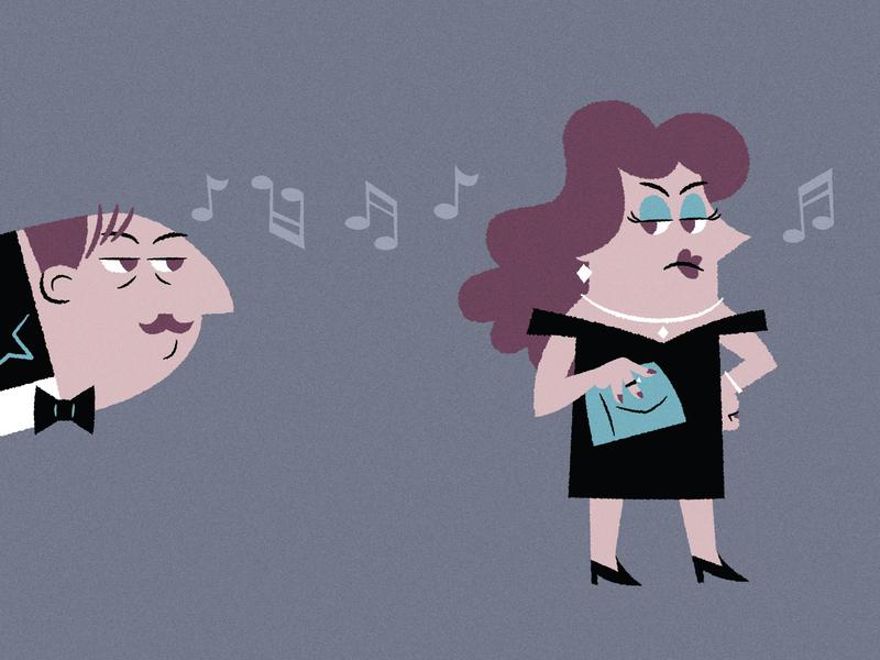 Miss Scarlet and Admirer clue cluedo bowtie dress creep mockinbird game mystery
