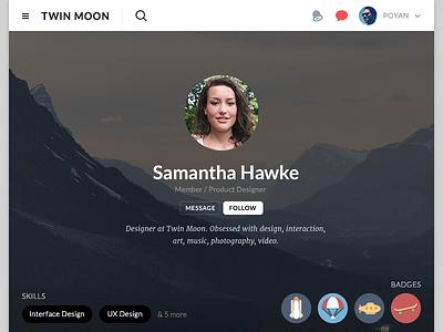 Jupiturf, Profile Page