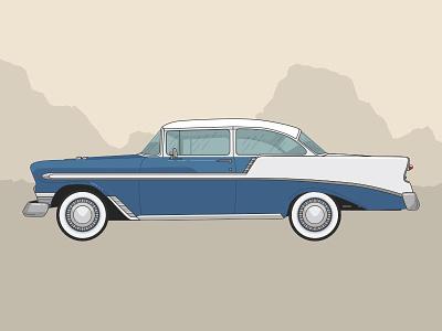 Chevy car vintage chevy