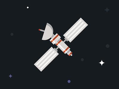 Satellite satellite space