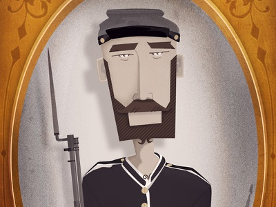 Unknown Soldier illustration character cartoon