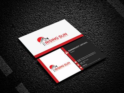 Real Estate Business Card Design real estate card design business card design stationary design logo branding business card graphic design