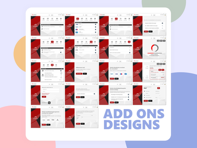 Browser add Ons Screen Design! dribbble vector illustration color creative character concept clean minimal modern design website webdesign web ui design web design ux uiux uidesign ui