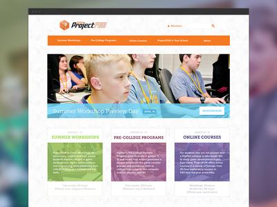 ProjectFUN Homepage