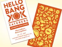 Hello Bangkok Logo & Business Card