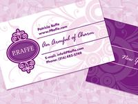 P.Raffe Logo & Business Card