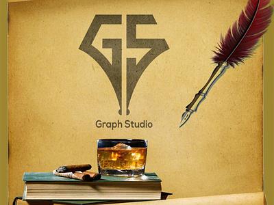 G + S + Pen logo Mark logomark adobe illustrator creative adobe design illustration brand branding logo graphic design