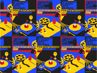DMCA Interdisciplinary Arts Awards Posters