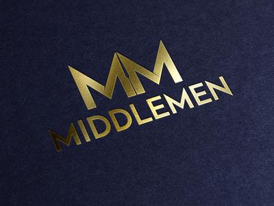 Branding   Logo Concept Middlemen
