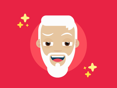 Illustration   Cool Santa