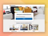Webdesign | Marktplaats 'Op eigen benen' landing page