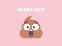 Scary Shit Emoji