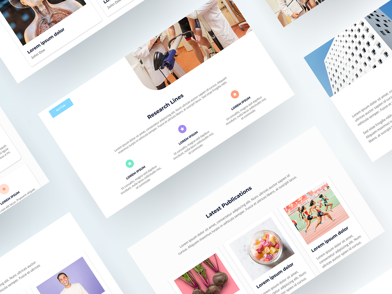 Wireframe shot 2 adobe xd adobe modern corporate business clean mockup user interface ux ui user experience homepage colors branding webdesign ui design ux design website web wireframe
