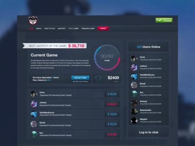 CS:GO Item Gambling